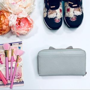 Ted Baker London 'Cat Whiskers Zip Matinee' Wallet